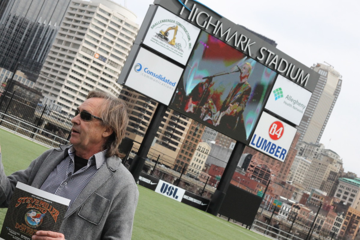 Rich Engler, Highmark Stadium concert venue