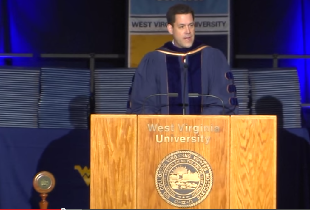 Gregg Behr S Commencement Speech To Wvu Fred Rogers Would Be Proud
