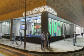 Point Park University's Media Innovation Center.