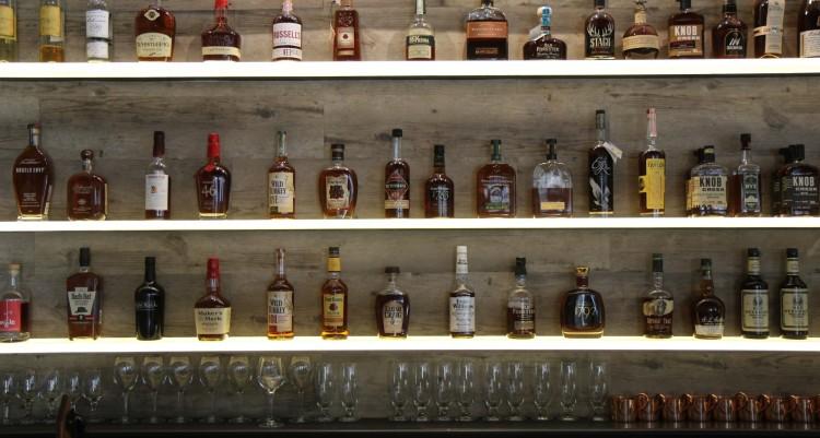 The bourbon wall