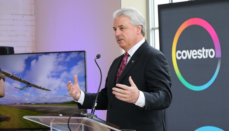 Covestro takes flight with the Energy Innovation Center
