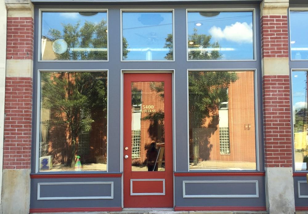 Nine stories facade