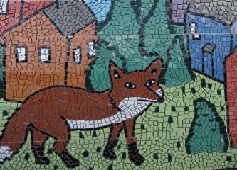 oakley street mosaic fox