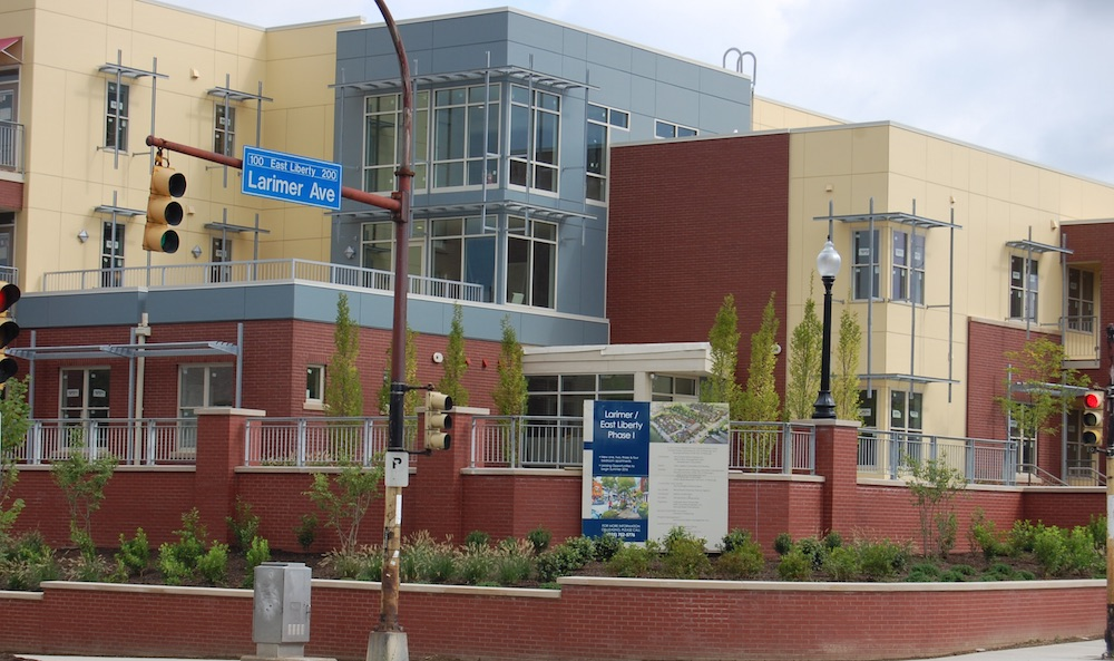Affordable housing part of Choice Neighborhood in Larimer/East Liberty; Phase one complete
