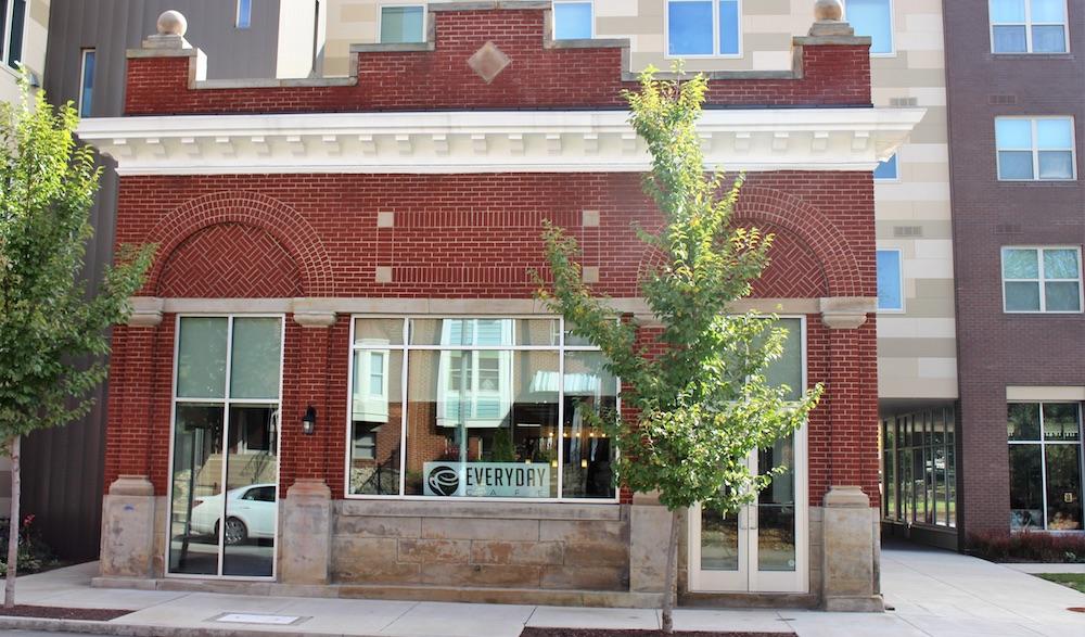 everyday cafe facade
