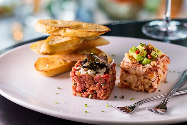 Steak-Lobster-Tartare Eddie V's