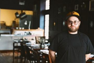 Brandon Blumenfeld, exec chef at Scratch F&B