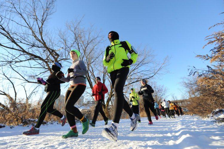 Dick's Sporting Goods Marathon Kick-Off Training Run