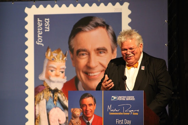 Speedy Delivery The Postal Service Honors Fred Rogers With Its Latest Stamp