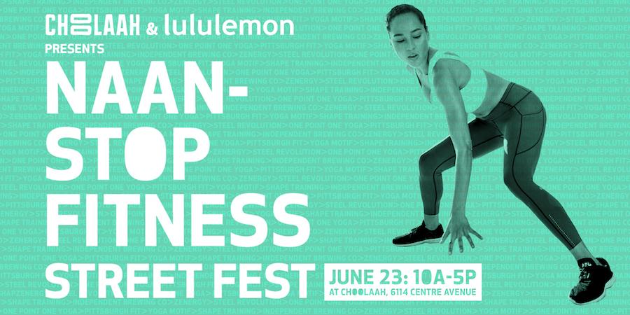 Naan-stop Fitness Street Fest
