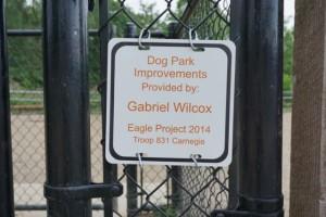 Thanks to Gabriel Wilcox!